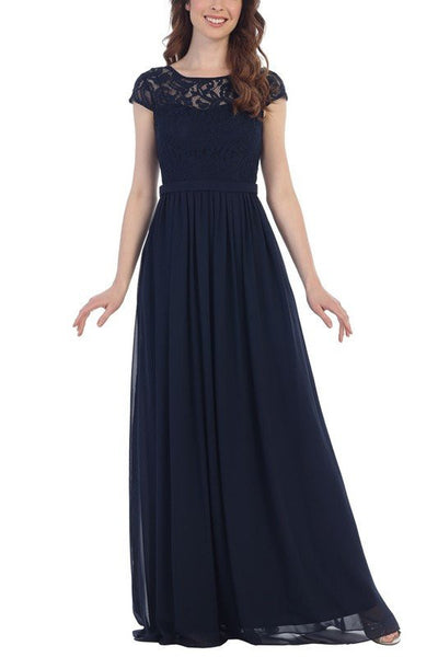 Floor length Bridesmaid dress BB cin# 071-478 - Simply Fab Dress
