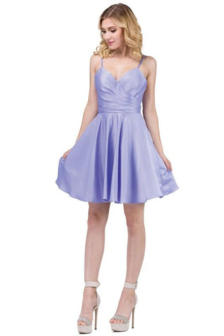 Cute short homecoming dress DQ3059-Simply Fab Dress