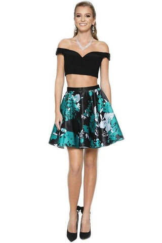 Black Short Homecoming Dress  DQ2053