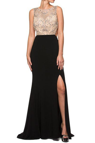 e71b16865a Cheap sexy cut back floor length dress 105-612 Prom dress - Simply Fab Dress