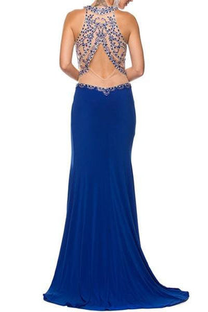 Cheap Halter top floor length dress 105-620 Prom dress - Simply Fab Dress