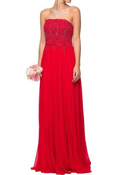 Floor length bridesmaid dress 105-626 Bridesmaid dress - Simply Fab Dress
