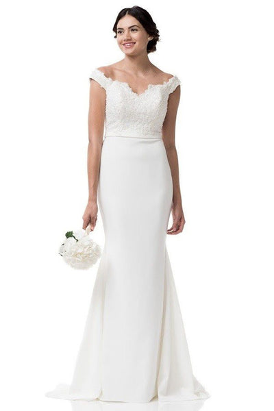 Beautiful wedding dress 106-acw1632 Affordable wedding dress - Simply Fab Dress