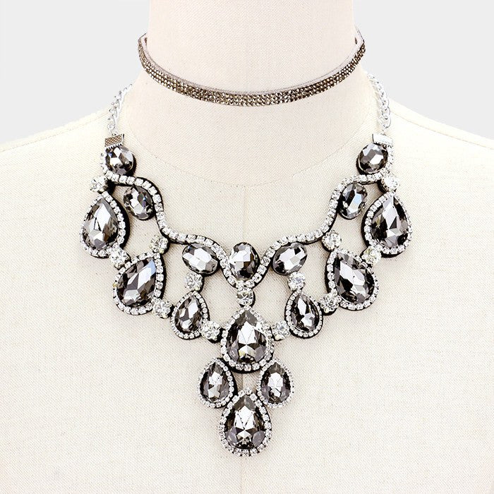 Statement fashion necklace  325200 CN12157 - Simply Fab Dress