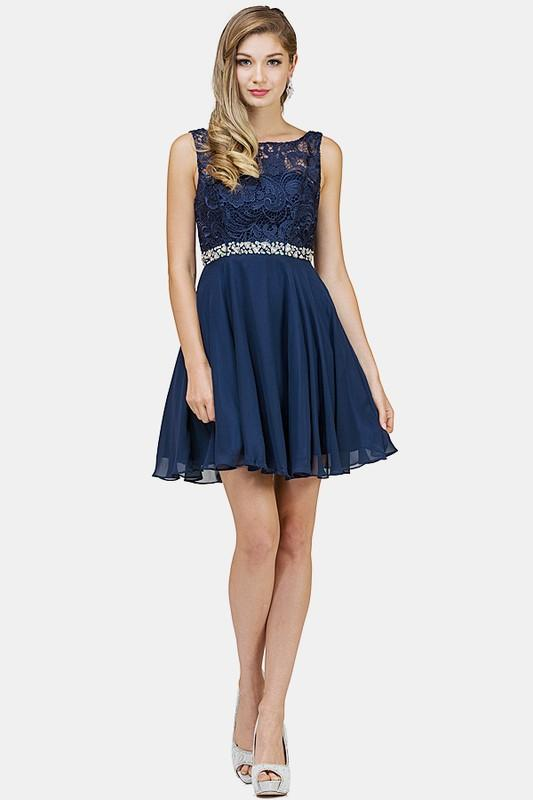 Elegant short formal dress dq9659-Simply Fab Dress