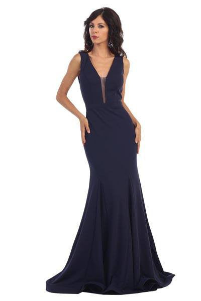 Long evening dress 100-rq 7362 - Simply Fab Dress