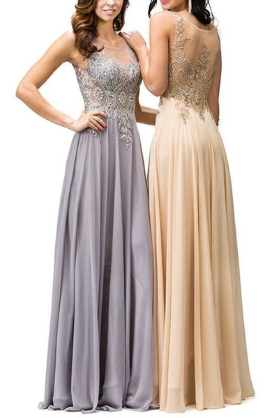 Illusion Prom Dress DQ9191-Simply Fab Dress