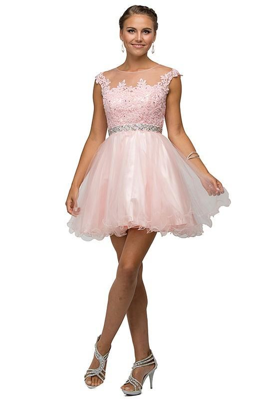 Cute short prom & homecoming Dress DQ9489-Simply Fab Dress