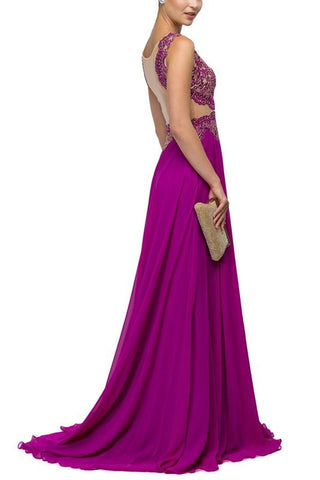 Sexy long formal evening gown DQ9429 - Simply Fab Dress