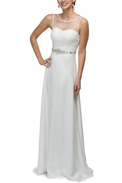 Beautiful cheap informal wedding Dress Dq9541 - Simply Fab Dress