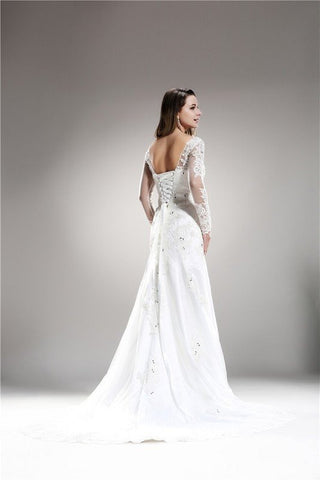 Sweetheart Lace Mermaid Wedding Dress 108-AB6709 Wedding Dress Affordable wedding dress - Simply Fab Dress