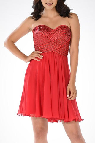 Sexy Short Homecoming Dress PO#7716-Simply Fab Dress