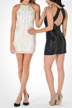 Gorgeous cocktail dress 101-7832 - Simply Fab Dress
