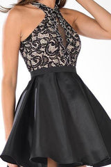 Sexy mikado cocktail dress 101-7870 - Simply Fab Dress