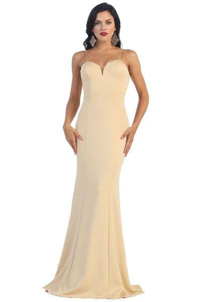 Elegant evening dress 100-mq1407 - Simply Fab Dress