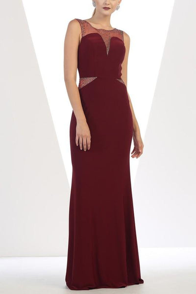 Elegant evening gown 100-mq1299-Simply Fab Dress