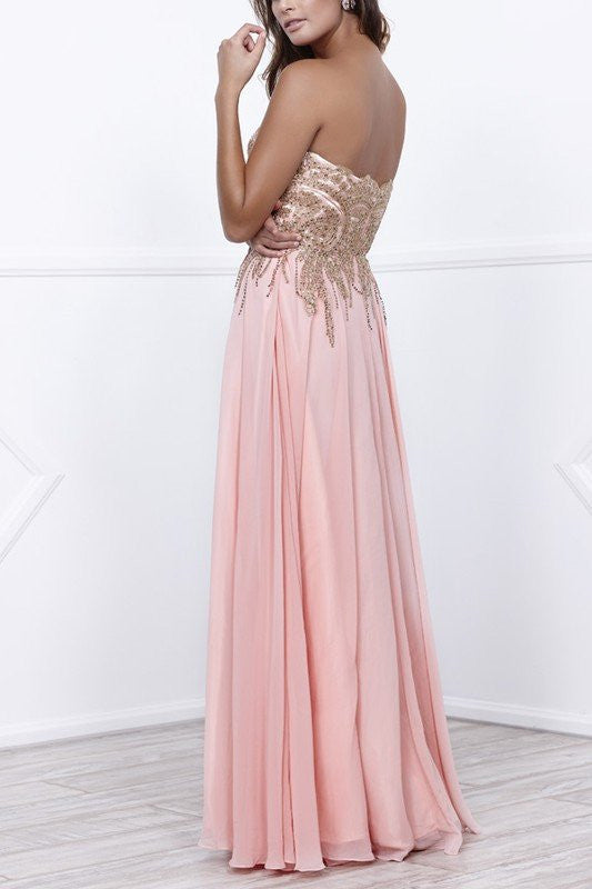 Sexy prom dresses- Glamorous strapless bridesmaid dre – Simply Fab Dress