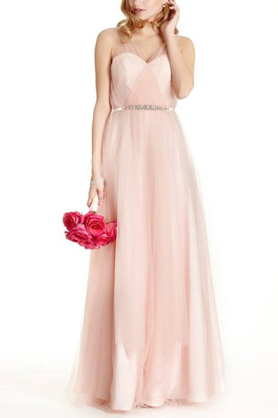 Floor length Bridesmaid Dress BB 171-750 - Simply Fab Dress
