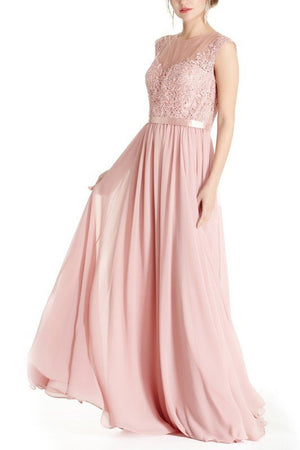 Floor length Bridesmaid Dress BB 171-799 - Simply Fab Dress