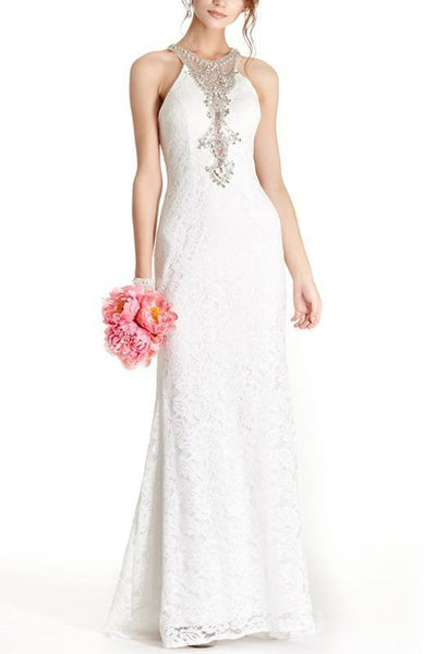 Lace sheath Wedding Dress 171-840 Affordable wedding dress - Simply Fab Dress