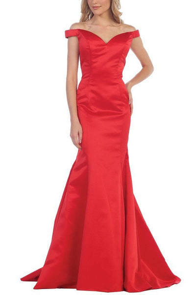 Elegant Satin Mermaid Bridesmaid dress  BB 197-125 - Simply Fab Dress