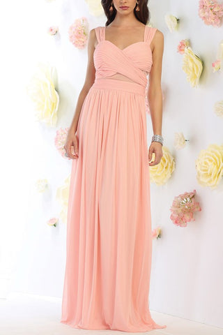 Sexy sweetheart neckline cheap long bridesmaid dress #mq1471 - Simply Fab Dress