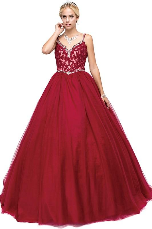 Red Quinceanera Dress Dq1138-Simply Fab Dress