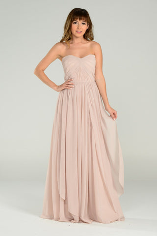 Convertible chiffon Bridesmaid Dress pol#7156 - Simply Fab Dress