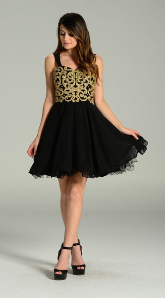Short Chiffon Dress 101-7296 Prom dress - Simply Fab Dress