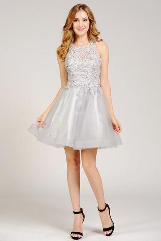 Short homecoming and formal dress  poly #8074 - Simply Fab Dress