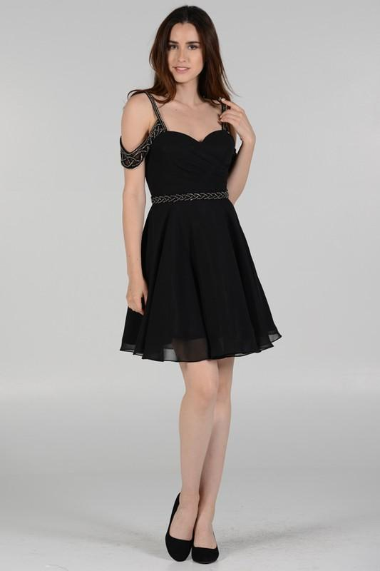 Off The Shoulder Formal Dress Poly 8028 Simply Fab Dress