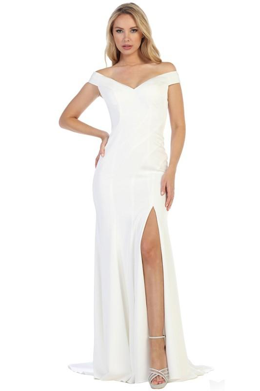 Long wedding reception dress let's 7177 - Simply Fab Dress