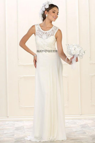 Informal casual wedding Dress Dq9541