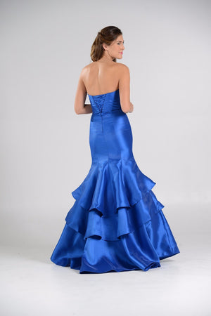 Glamorous Satin Mermaid Bridesmaid dress  pol#7672 - Simply Fab Dress