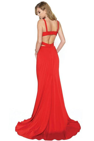 Sexy two piece homecoming dress JL673-Simply Fab Dress