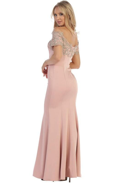 Trendy mermaid evening gown  Let's 7191 - Simply Fab Dress