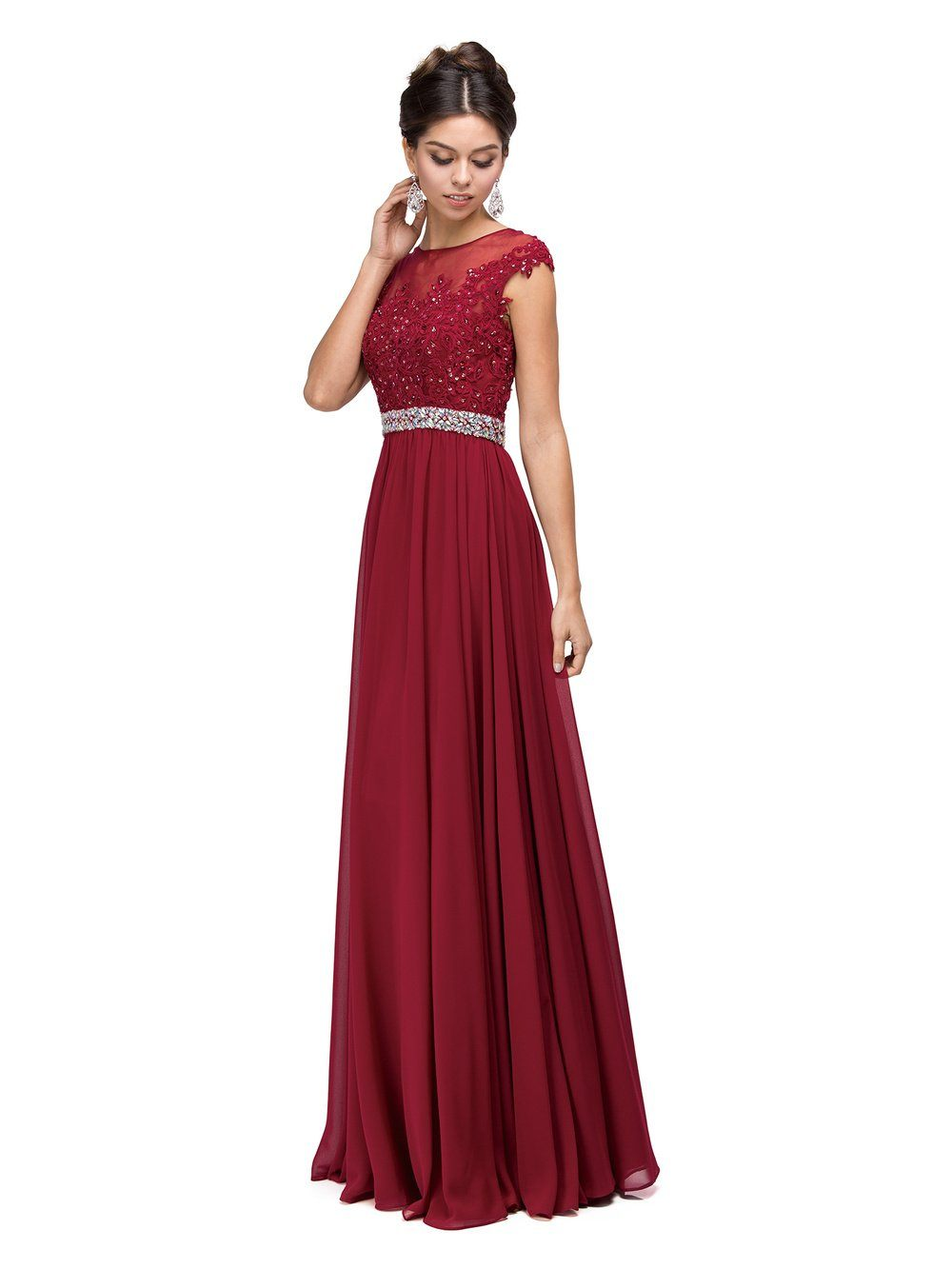 Floor length cheap chiffon bridesmaid dress dq 9400 simply fab dress floor length cheap chiffon bridesmaid dress dq 9400 simply fab dress ombrellifo Image collections