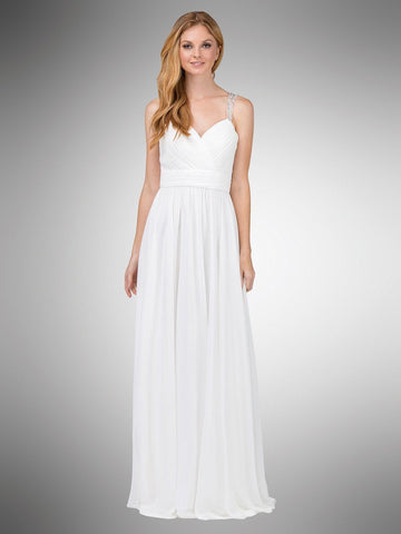 Informal beach gowns casual wedding dresses for summer simply casual chiffon wedding dress dq9471w simply fab dress junglespirit Images