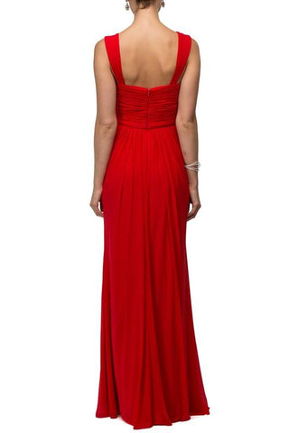 Red evening gown & long formal dress - Simply Fab Dress