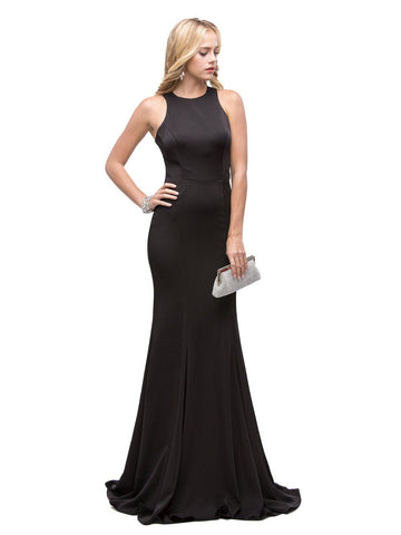 Sexy Black Formal Dress   gls 2286