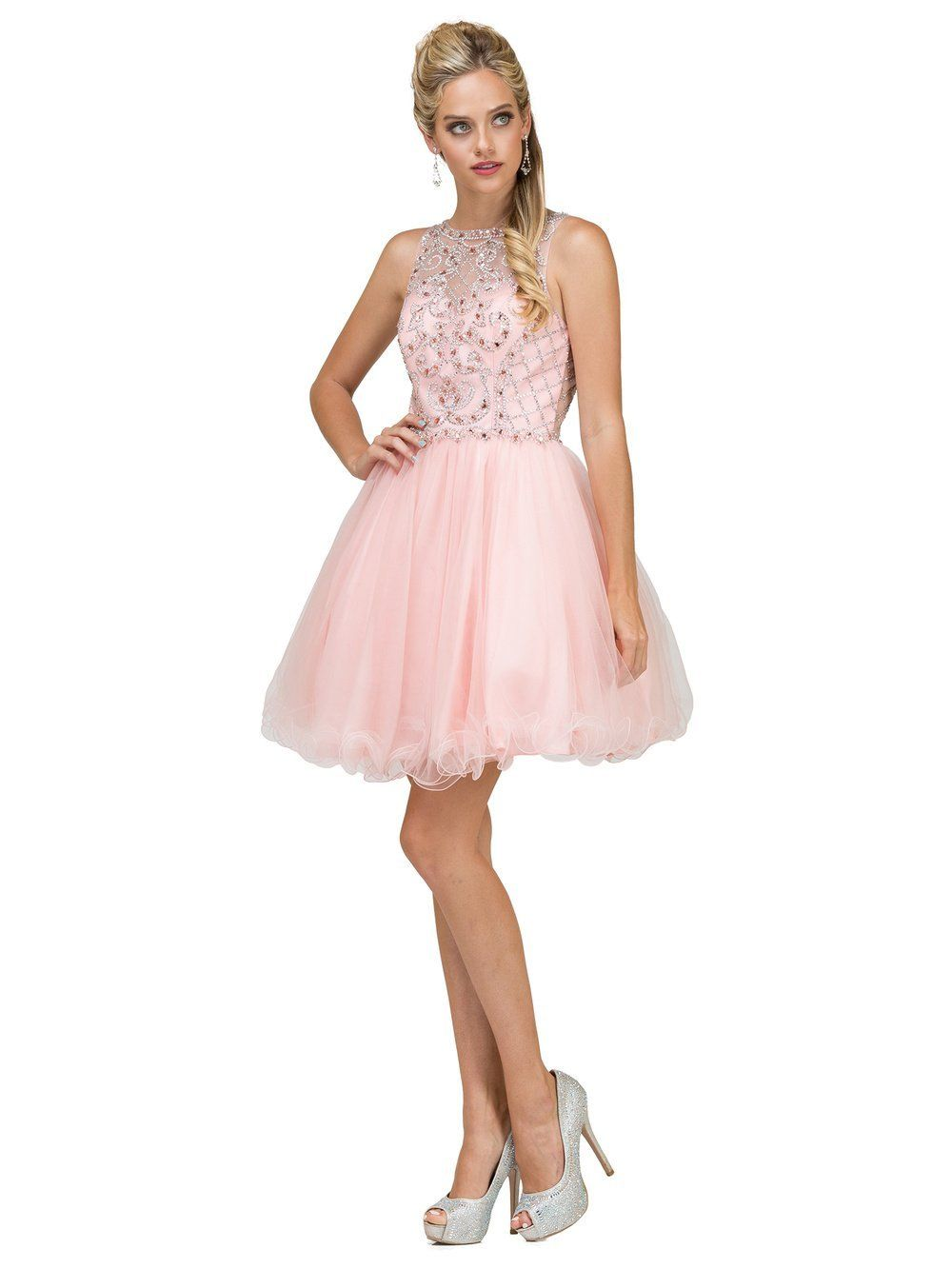 Sparkly Short Prom Dress – Simply Fab Dress