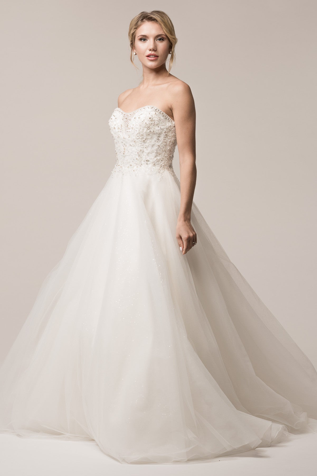 Inexpensive ball gown wedding dress BC#acw2004 – Simply Fab Dress