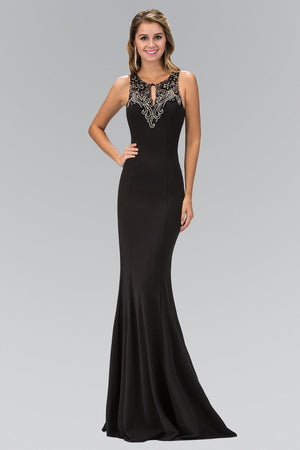 Sexy black formal dress gls 1315-Simply Fab Dress