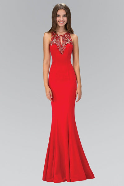 Sexy red prom dress gls 1315-Simply Fab Dress