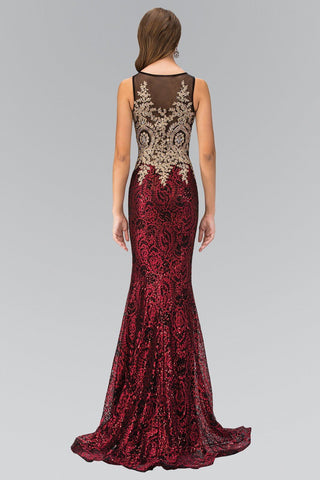 Sequin prom dress gls 1319-Simply Fab Dress