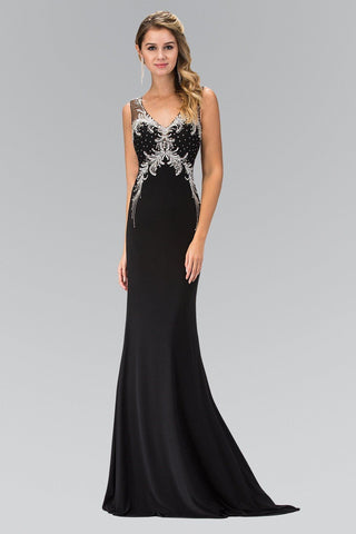 949392a01b Black sexy evening gown gls 1358-Simply Fab Dress