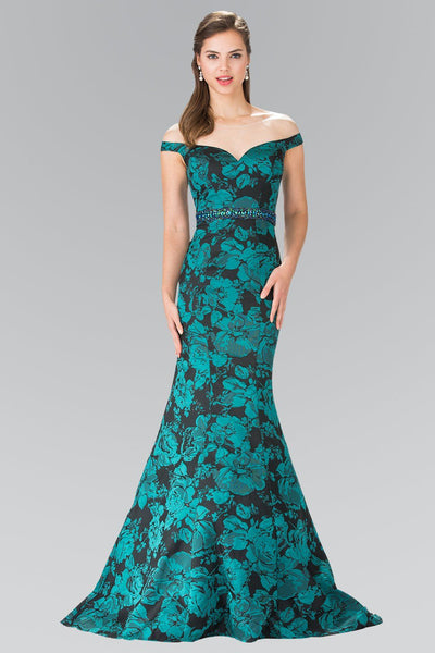 Mermaid floral home coming dress gls 2245-Simply Fab Dress