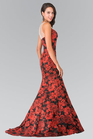 Red and black formal dress gls 2246-Simply Fab Dress