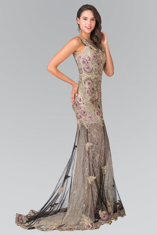 Extravagant lace prom dress gls 2269-Simply Fab Dress