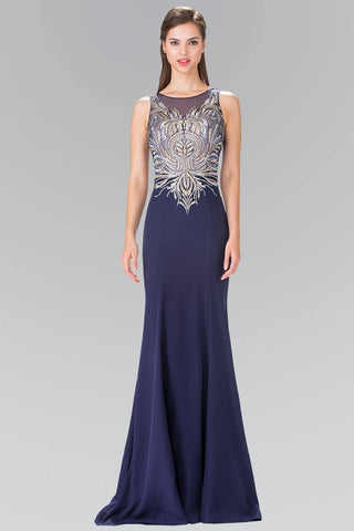 18a960ba9c Sparkly navy prom dress gls 2323-Simply Fab Dress